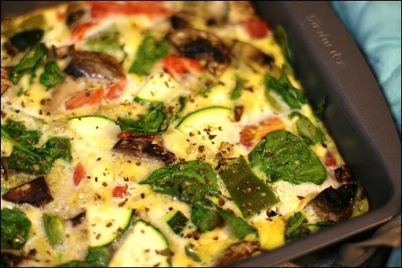 Smoked Salmon & Vegetable Egg Casserole Recipe - fANNEtastic food ...
